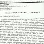Fitoplazmoze vinove loze u Hrvatskoj