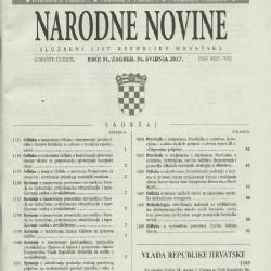Narodne Novine 51/17