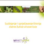 Zlatna zutica vinove loze: mjere suzbijanja i sprjecavanja sirenja